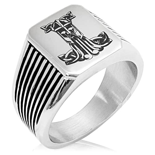Amazon.com: Anillo de acero inoxidable para martillo de Thor ...
