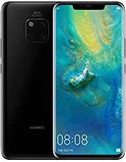 HUAWEI Mate 20 Pro 128 GB 6.39-Inch 2K FullView Android 9.0 SIM-Free Smartphone with New Leica Triple AI Camera, Single SIM, UK Version - Black