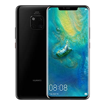 HUAWEI Mate 20 Pro 128 GB 6 39-Inch 2K FullView Android 9 0 SIM-Free  Smartphone with New Leica Triple AI Camera, Single SIM, UK Version - Black