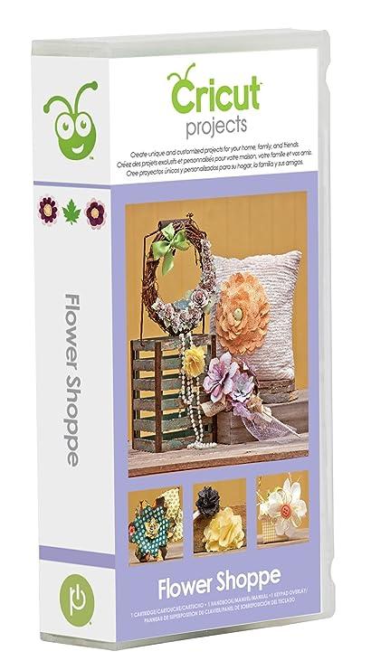 Amazon Com Cricut Flower Shoppe Cartridge