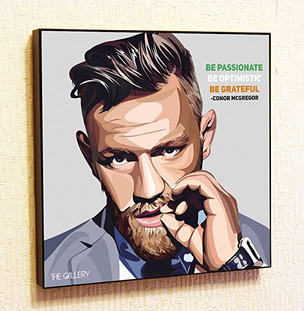 Amazon.com: Conor McGregor #2 UFC MMA Ireland Motivational Quotes ...