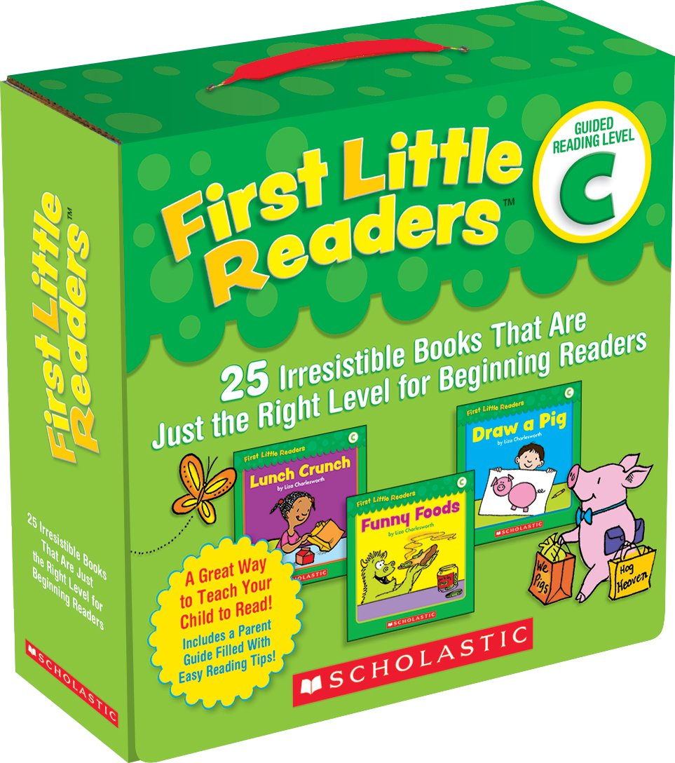 First Little Readers Parent Pack: Guided Reading Level C: 25 Irresistible Books That Are Just the Right Level for Beginning Readers ebook
