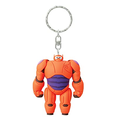 Disney Baymax Armor 3D Soft Touch Key Ring: Toys & Games