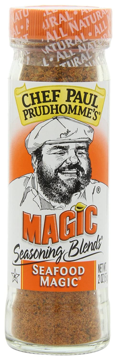 Chef Paul Prudhomme's Magic Seasoning Blends Seafood Magic 2 Ounce (Pack of 6)