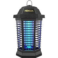HEMIUA ZAP Pro Patio UV Lamp Indoor-Hangable Outdoor Mosqto Killer-Insect Kiler Fly Pests Atractant Trap, Black