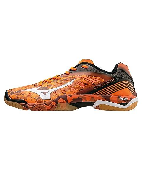 Mizuno - Zapatillas de balonmano para hombre naranja: Amazon.es: Zapatos y complementos