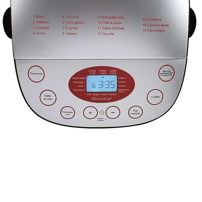 Panificadora (Pan Automat - Panificadora (pantalla LCD y ...
