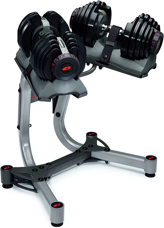 BowFlex SelectTech 552 Adjustable Dumbbell 5 to 52 LB NEW* SINGLE DUMBBELL!