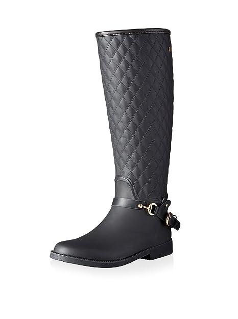 1c26e51ca03d6 Gioseppo Botas de Agua Tekla Negro EU 40  Amazon.es  Zapatos y complementos
