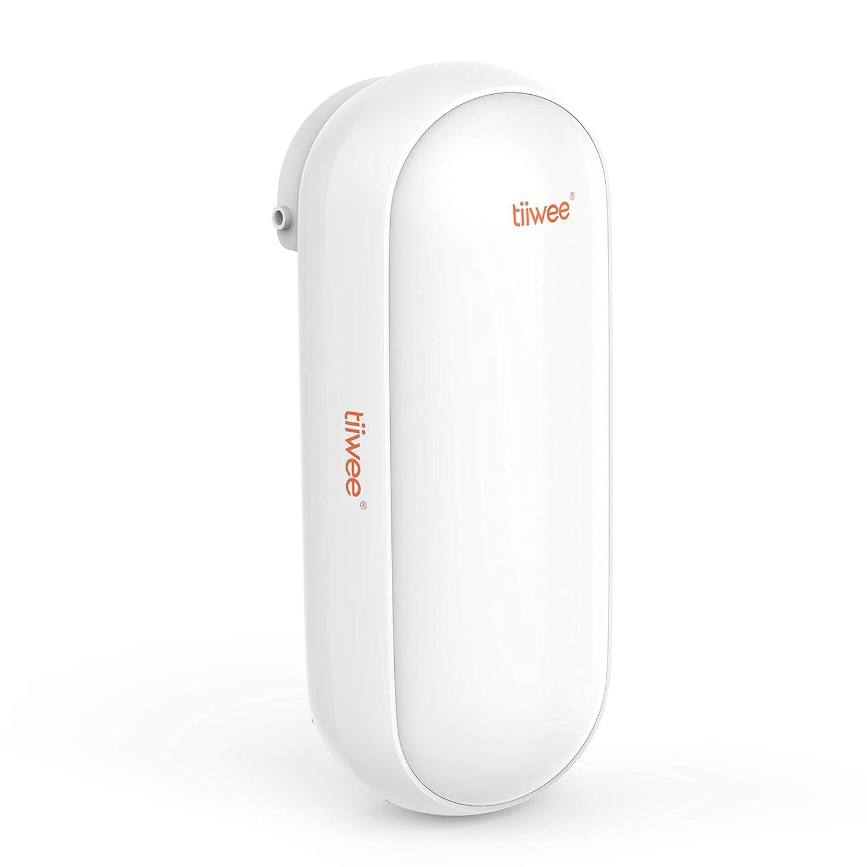 tiiwee A3 Sirena de Exterior para el Sistema de Alarma Tiiwee - Inalámbrica - Seguridad en el Hogar - Impermeable - Batería o 220V - Luz de Alerta ...