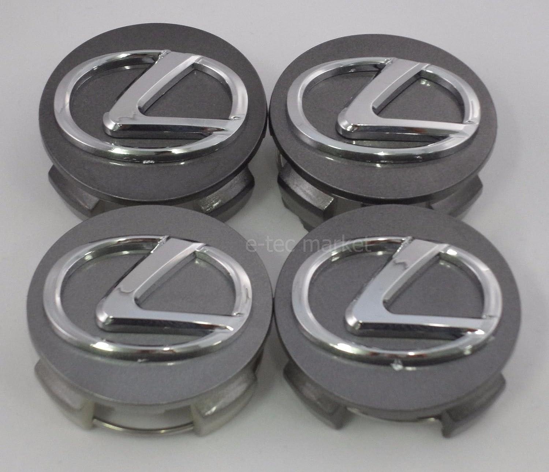 4pcs. NEW Lexus wheel center caps hub cap ES300 IS300 GS430 RX330 GS300 SET 74162