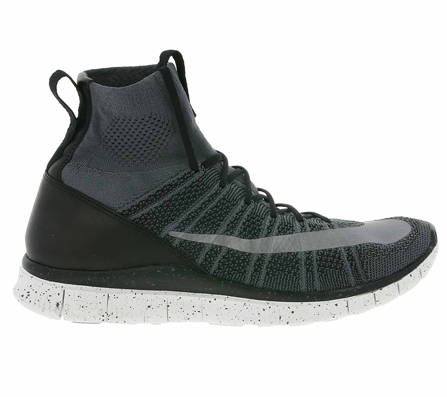 on sale 69879 373fa NIKE Free Flyknit Mercurial CR7 805554-004 Grey/Black/White/Silver Men's  Shoes (Size 10)