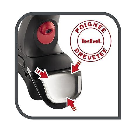 Tefal L9942012 - Mango Inteligente, plástico, Negro, 27.2 x 13.5 x 5 ...