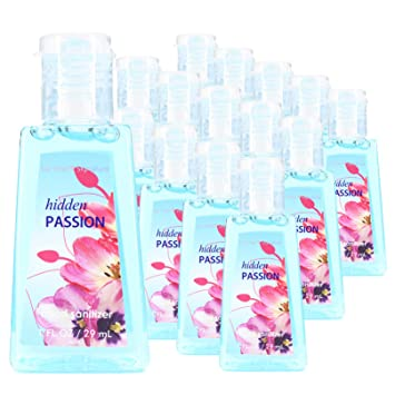 Amazon Com 15 Mini Individual Travel Size Hand Sanitizer Bottles