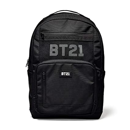 20a559a93f9 Amazon.com  Line Friends x BTS Collaboration BT21 Backpack Black ...