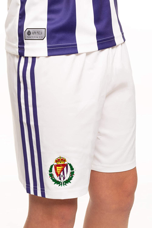 Temporada 2019//20 Pantal/ón oficial 1/ª equipaci/ón del Real Valladolid C.F