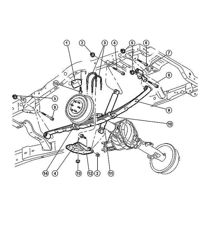 Amazon Com Mopar 5210 6830ai Leaf Spring Automotive