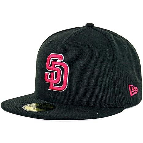 New Era 5950 San Diego Padres sábana bajera ajustable sombrero ...