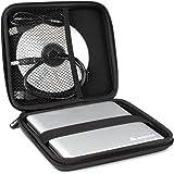 Salcar - Custodia rigida portatile per interni ed esterni DVD CD Blu Ray masterizzatori, Protezione universale copertura, resistente alle vibrazioni