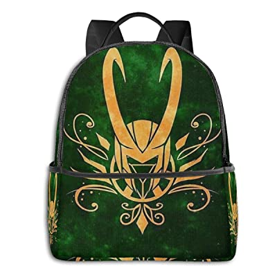 Loki Laufeyson School Bag, college Boy And Girl Backpack, computer Bag 15 Inch: Clothing