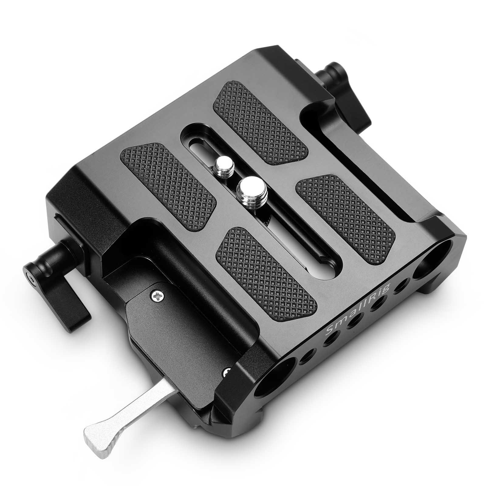 SMALLRIG Explorer Bridgeplate for Arri Quick Release Plate with 15mm LWS Clamps - 1642 by SmallRig