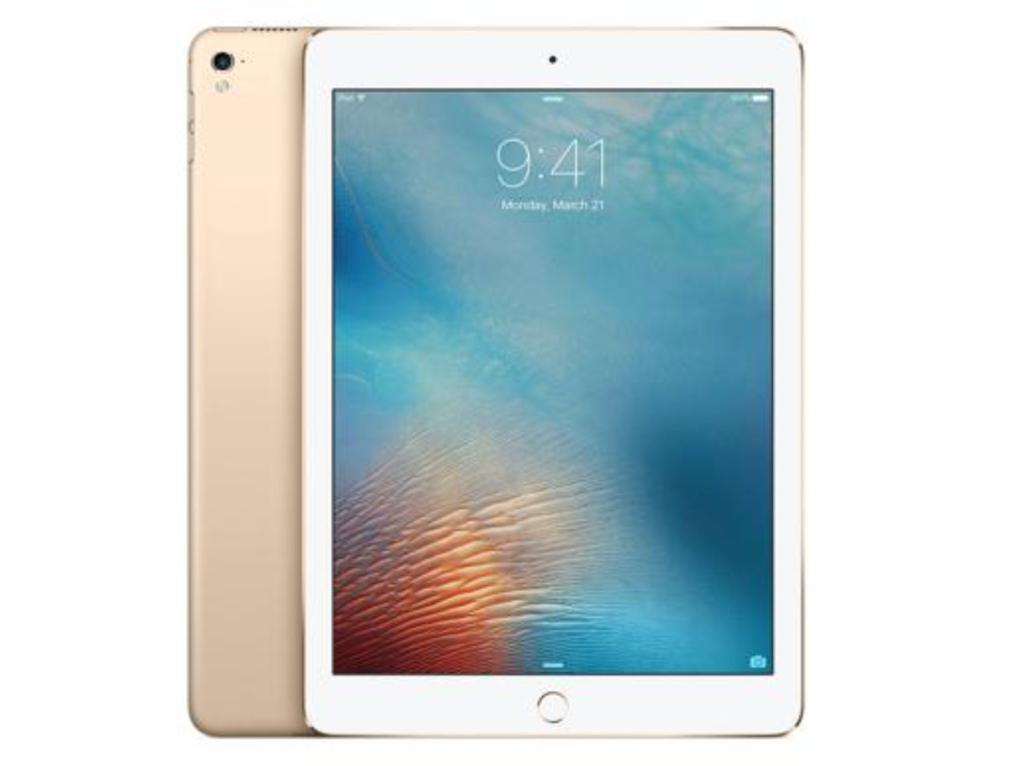 Apple iPad 5th Gen 2017 9.7'' 32GB Gold (Unlocked) (Certified Refurbished) by Apple