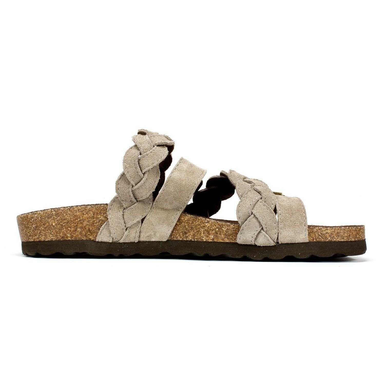 WHITE MOUNTAIN Shoes 'Holland' Women's US|Light Sandal B06XKCR5MF 7 M US|Light Women's Taupe f14941