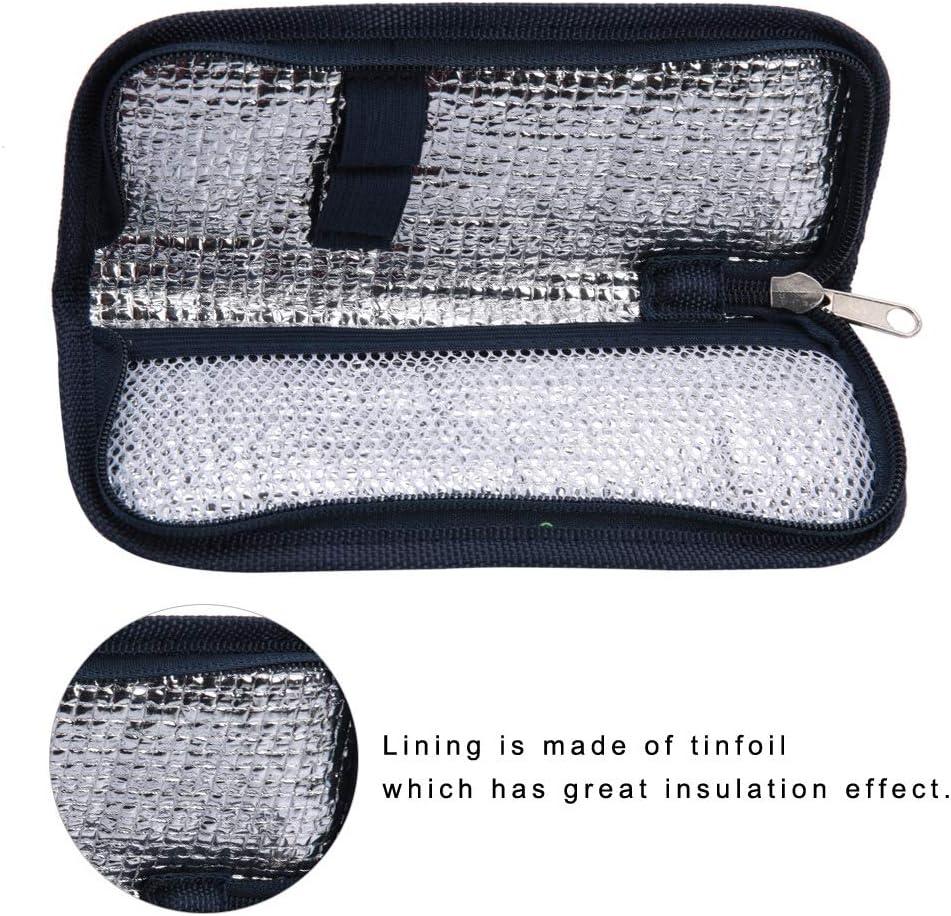 1# Scatola da Viaggio per Dispositivo di Raffreddamento per insulina Borsa Termica per Dispositivo di Raffreddamento per insulina
