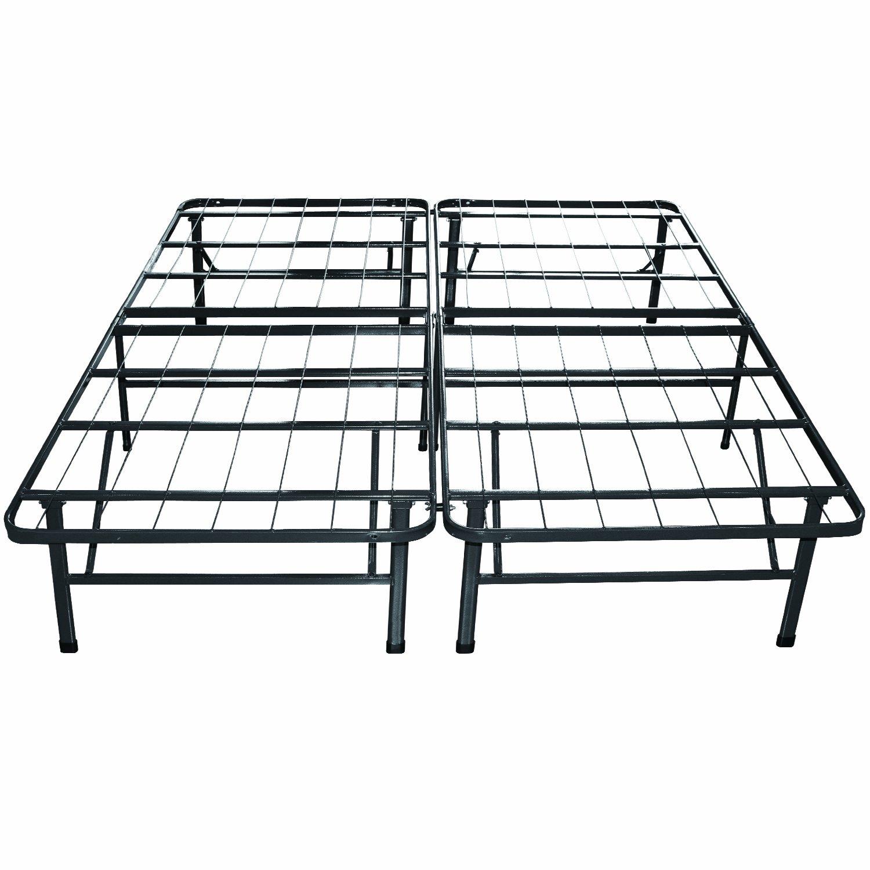 Amazon Sleep Master 12 Inch Pressure Relief Memory Foam Mattress And Platform Metal Bed Frame Foundation California King Kitchen Dining