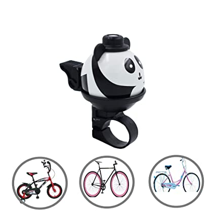 Amazon.com : Alovexiong 360°Kids Bike Bell Rotatable Cartoon ...