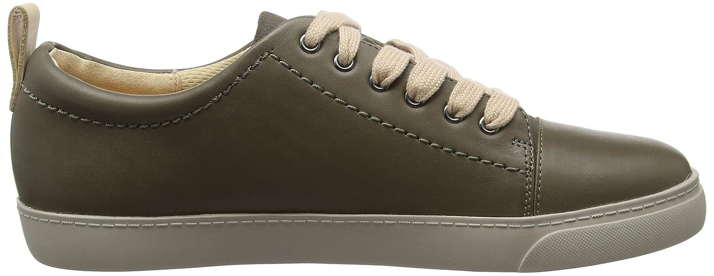 Clarks Damen Glove Echo Sneaker Sneaker Sneaker Grau (Grau Leder) cd0ef1
