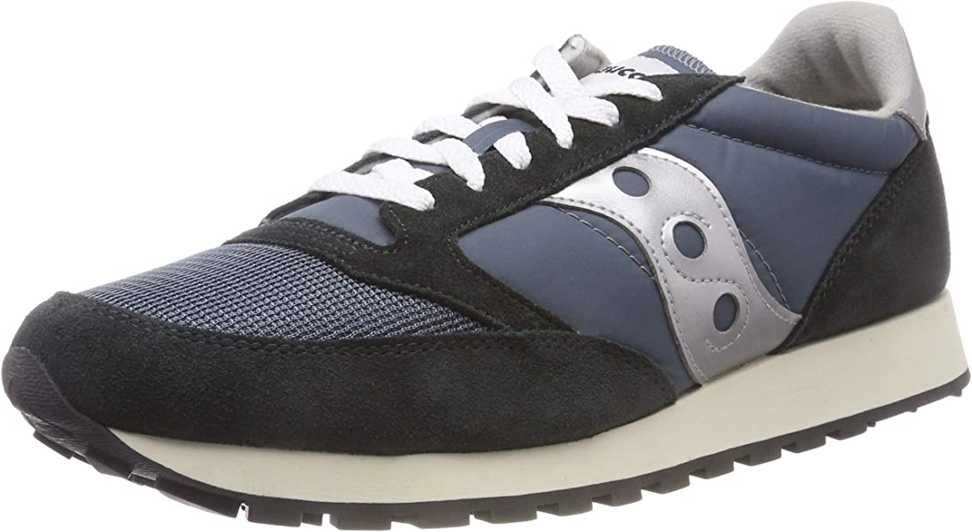 acbbb95f09 Saucony Men's Jazz Original Vintage Trainers, (Blue/Navy Silver 4), 4 UK  37.5 EU: Amazon.co.uk: Shoes & Bags