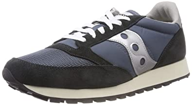 new product f429c 4c227 Saucony Jazz Original Vintage, Baskets Mixte Adulte, Bleu (Blue Navy Silver  4
