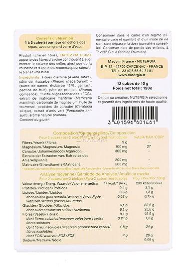 Nutergia Entezym Masticable Complemento Alimenticio - 12 Tabletas: Amazon.es: Salud y cuidado personal