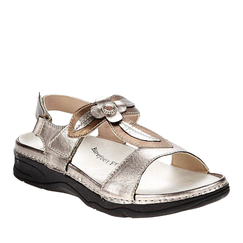 Drew Alana Women's Sandal B00SNNHDRE 6 B(M) US|Pewter/Bronze
