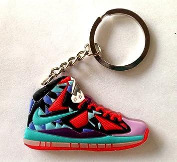 1f4426ecadc20 Lebron 10/X What The MVP King James Sneakers Shoes Keychain Keyring AJ 23  Retro Air Jordan
