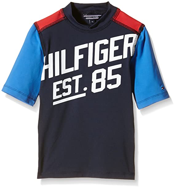 Tommy Hilfiger Boys Swim Tee SS, T Shirt Bambino: Amazon