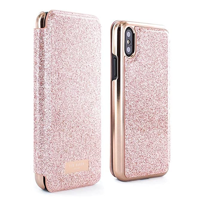 112476558 Amazon.com  Ted Baker PERI Mirror Folio Case for iPhone Xs X ...
