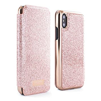 58f9d7245 Ted Baker 54625 PERI Mirror Folio Case for Apple iPhone  Amazon.co ...