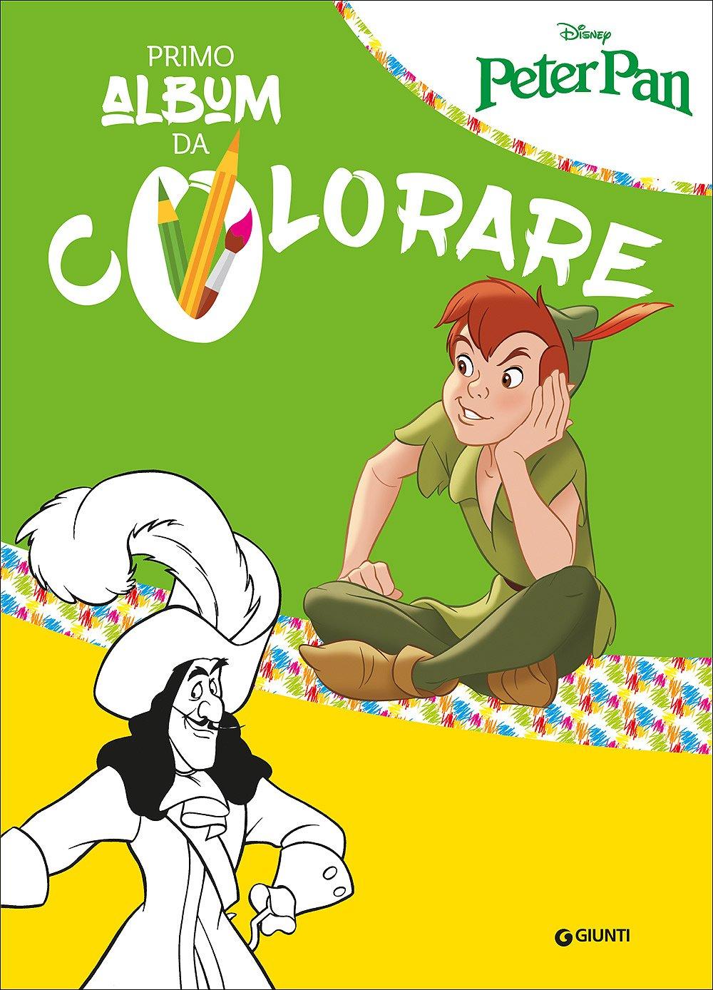 Amazon It Primo Album Da Colorare Special Peter Pan E Trilli Ediz