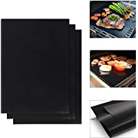 MultiWare Teflon Non Stick Oven Liner Heavy Duty BBQ Grill Mat For Fan Assisted Ovens 40 x 50cm
