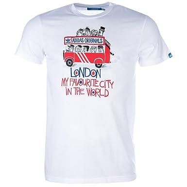Adidas Bus Tour Tee X42097 Homme Tee Shirt Manche Courte Blanc ... e721c4f2f2c