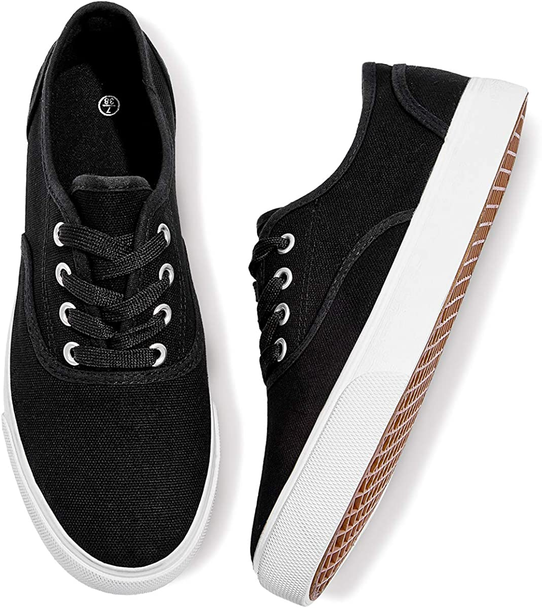 Canvas Sneakers Walking Running Shoes