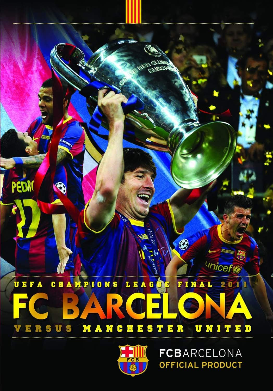 UEFA Champions League Final 2011 FC Barcelona 3 Manchester United ...