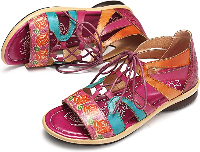 Ladies Ravel Navarro Pink Leather Flat Quality Summer Beach Dress Sandals UK 7