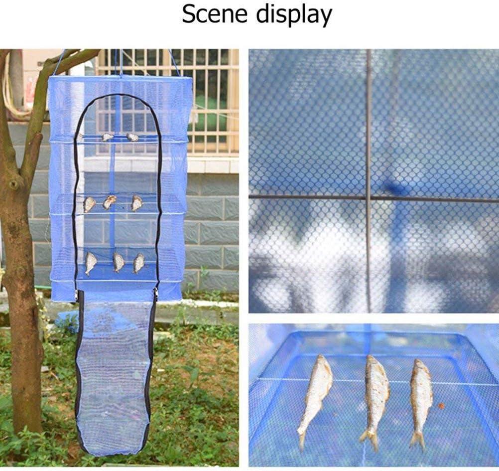 Hihey Trocknungsnetz Kr/äuter Fisch Masche Trocknendes Netz Lebensmittel D/örrger/ät Nylon Regal Fisch Rack Outdoor trockenes Netz