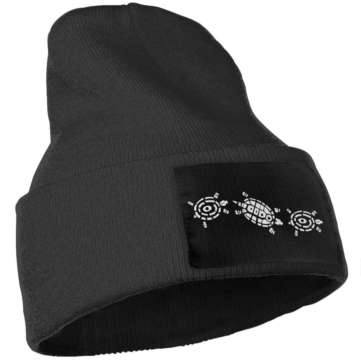 Unisex Turtles Outdoor Warm Knit Beanies Hat Soft Winter Skull Caps