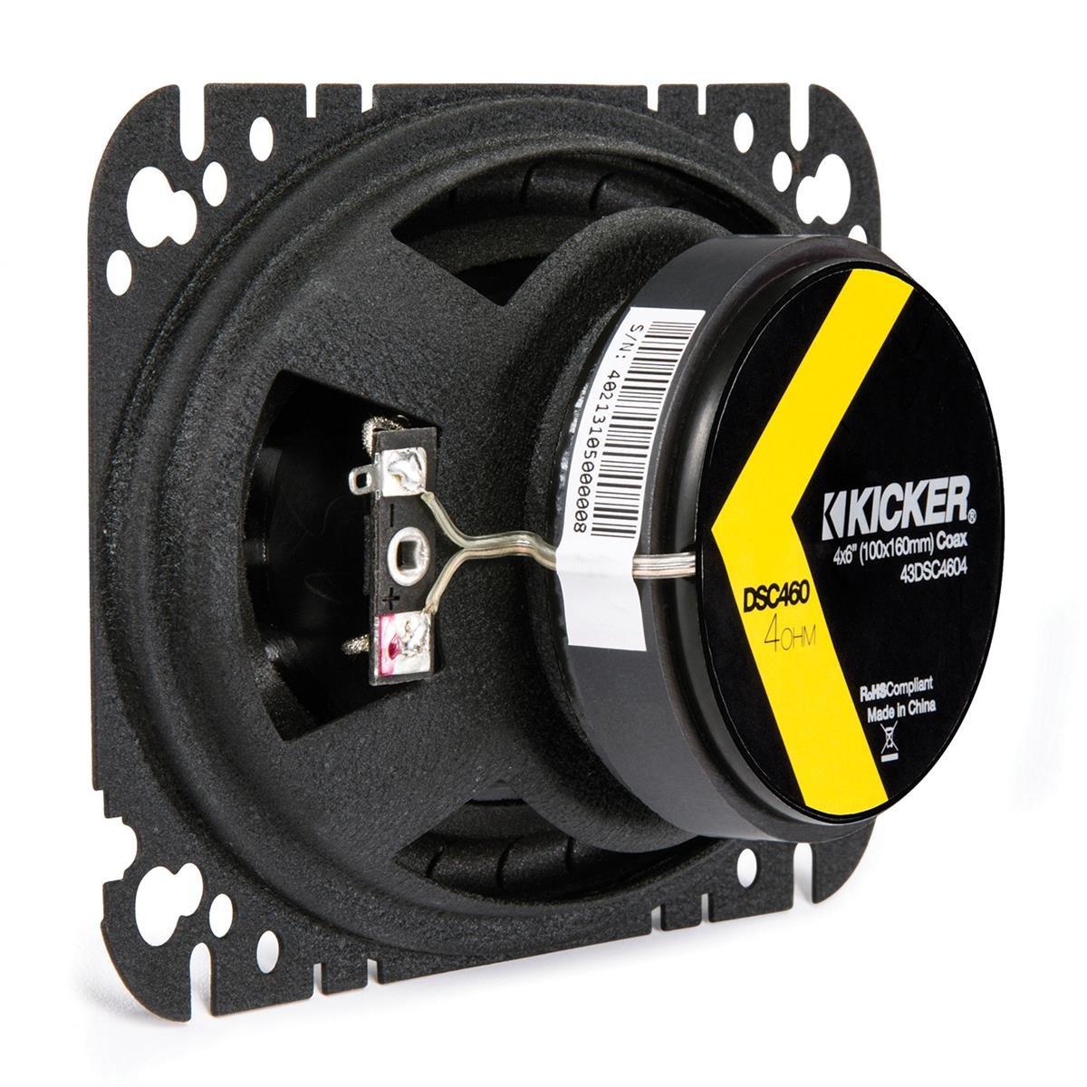 Kicker 43DSC4604 4x6 2-way Speaker Pair by Kicker (Image #6)