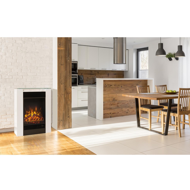 Klarstein Studio 5 Chimenea eléctrica • Radiador • Calefacción • 5 Niveles Brillo • 900 ó 1800 W • Silenciosa • Temperatura Ajustable • Mando a Distancia ...
