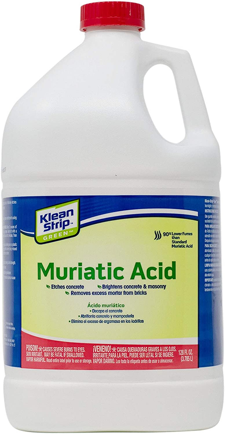 Klean-Strip Green GKGM75006 Muriatic Acid, 1-Gallon